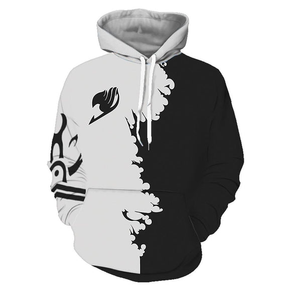 Unisex 3D Print Anime Fairy Tail Cosplay Hoodies Sweatshirts Casual Pullover Hooded Jacket