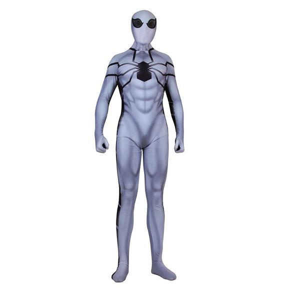 Adult Halloween Zentai Future Foundation Spider-Man Costume Cosplay Bodysuit Jumpsuit