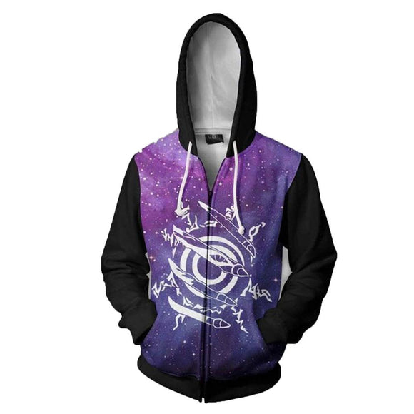 Unisex Naruto Hoodies Jacket 3D Print Cosplay Costume Hoodies Anime Sweatshirts
