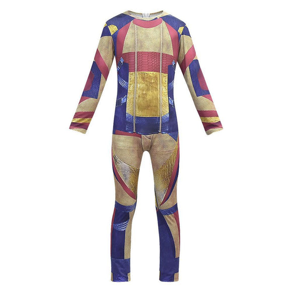 Adult Descendants 3 Gil Cosplay Costume Jumpsuit Zentai Bodysuit Halloween Fancy Dress