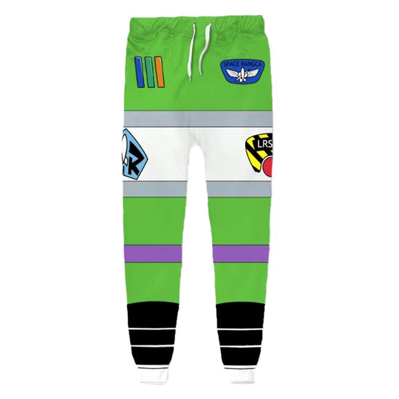 Unisex Buzz Lightyear Sweatpants Toy Story 3D Printed Long Sport Pants