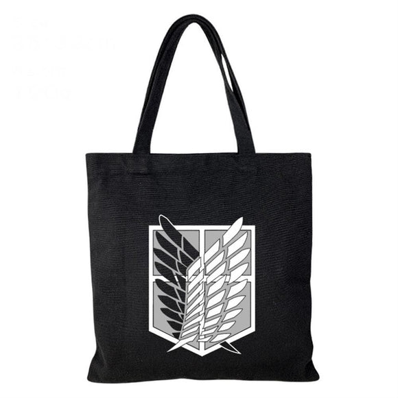 Attack on Titan Cosplay Canvas Shoulder Bag Portable Satchel