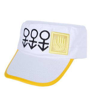 JoJo's Bizarre Adventure Diamond Is Unbreakable Kujo Jotaro Cosplay Hat Baseball Cap Unisex Casual Leisure Sun Hat
