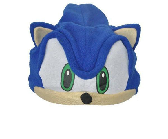 Sonic the Hedgehog Fleece Cosplay Cap Anime Beanie Plush Hat Costumes