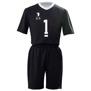 Unisex Haikyuu!! Inarizaki High School Volleyball Club Team Uniform Kita Shinsuke Cosplay Short Sleeve Top + Shorts Sets