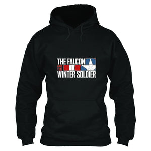 Unisex TV Series The Falcon and the Winter Soldier Hoodie 3D Printed Hooded Pullover Sweatshirt