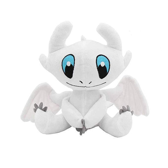 25cm How To Train Your Dragon Light Fury Cartoon Plush Doll Soft Stuffed Toys Children Gift Toys Plush Toys