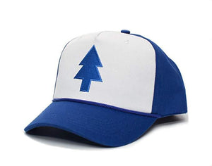 Gravity falls Blue Pine Hat Embroidered Cloth & Braid Baseball Cap