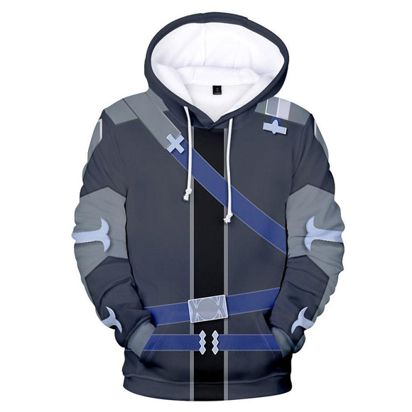 Anime Sword Art Online Alicization Hoodie Men Women Cosplay Hoodies Pullover Hooded Jacket Streetwear Sweatshirt