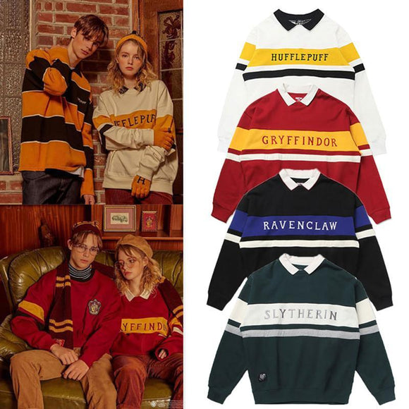Harry Potter Couple Sweater Magic School Uniform Medal Tide College Sweatshirt