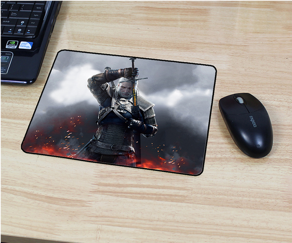 The Witcher 3: Wild Hunt Gaming Mouse Pad Geralt of Rivia Yennefer Ciri Mouse Mats