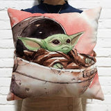 Star Wars The Mandalorian Home Throw Pillow Comfortable Indoor Use Cushion Pillows