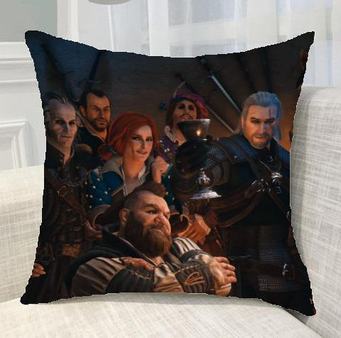 The Witcher 3: Wild Hunt Home Throw Pillow Comfortable Indoor Use Cushion Pillows