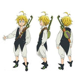 Seven Deadly Sins Meliodas Outfit Cosplay Costume