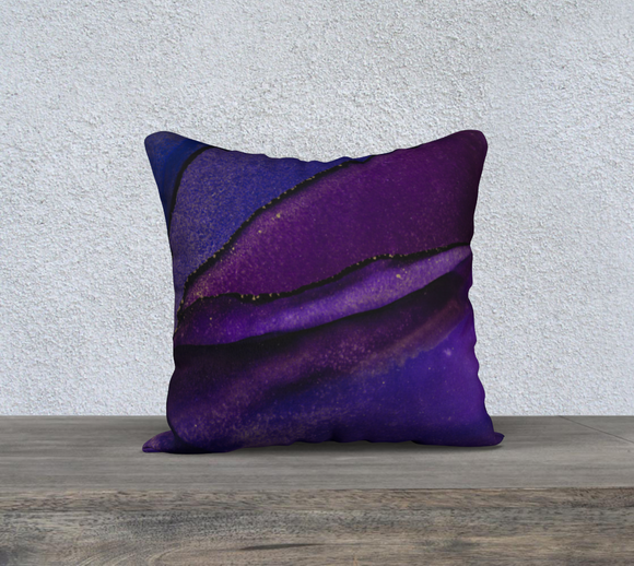 PURPLE BERRY PILLOW