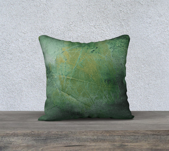 GREEN GRASS PILLOW