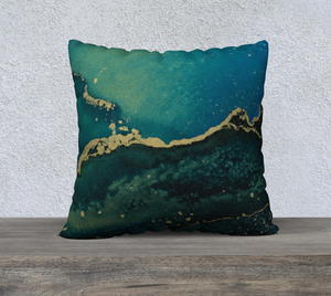 "RISE AND FALL PILLOW - SIZE 22"" x 22"""