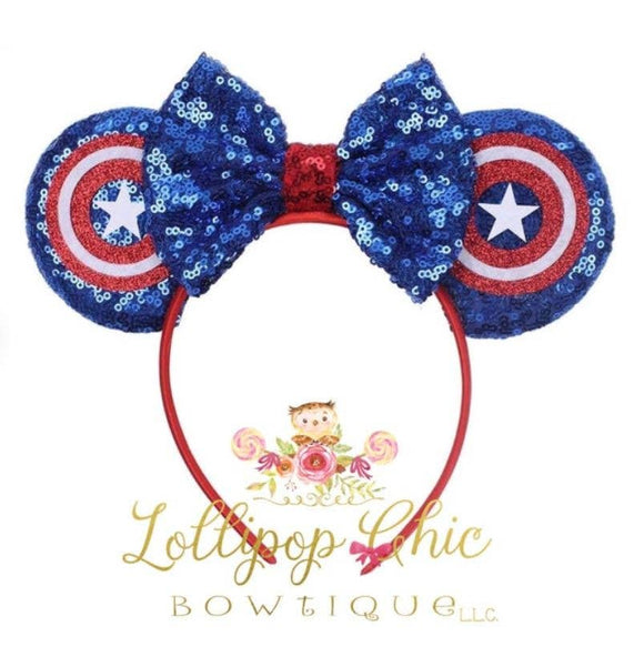 Captain America Ears