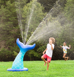Inflatable Mermaid Tail Sprinkler - Victoria's Toy Station