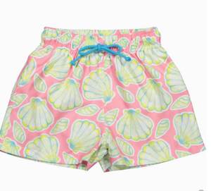 Dancing Shells Swim Trunks - Victoria's Toy Station