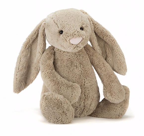 Bashful Beige Bunny Huge - Victoria's Toy Station