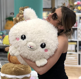 "Huge Squishable Snuggle Bunny 15"" - Victoria's Toy Station"