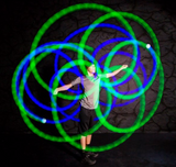 Spin Balls Led POI - Victoria's Toy Station