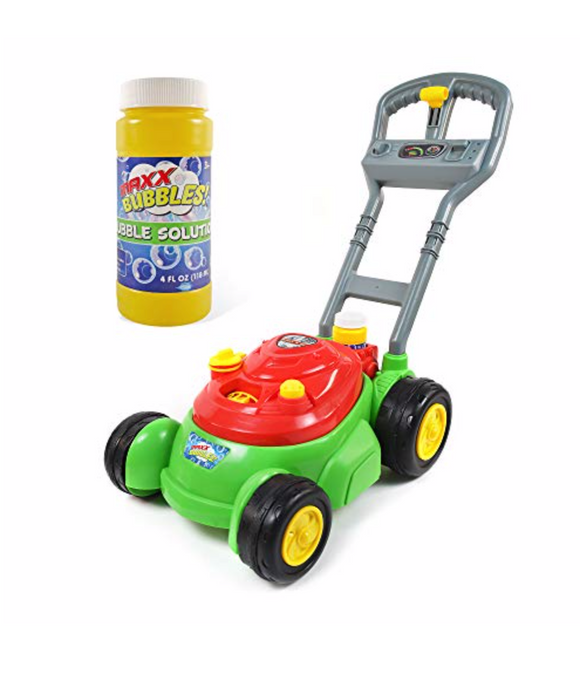 Bubble N Go Mower Blue - Victoria's Toy Station
