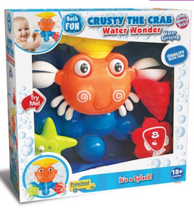 Crusty The Crab water wonder - Victoria's Toy Station