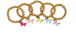 Golden Unicorn Bracelet - Victoria's Toy Station