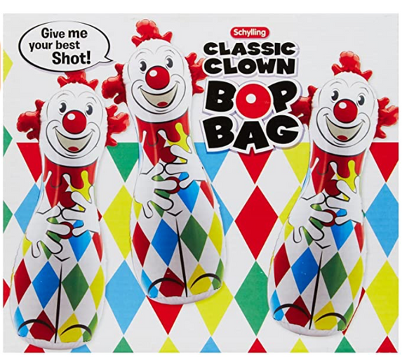 Clown Bop Bag - Victoria's Toy Station