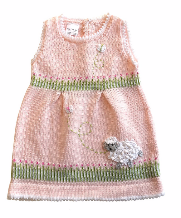 Pink knit dress - Victoria's Toy Station