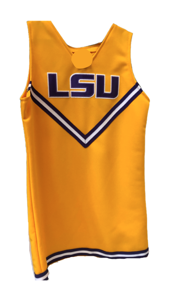 GOLD LSU Cheerleader Jumper - Victoria's Toy Station