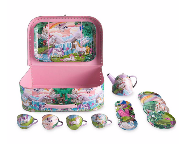 Fantasy Land Tin Tea Set - Victoria's Toy Station