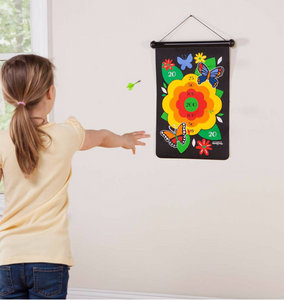 Double-Sided Magnetic Canvas Target Game