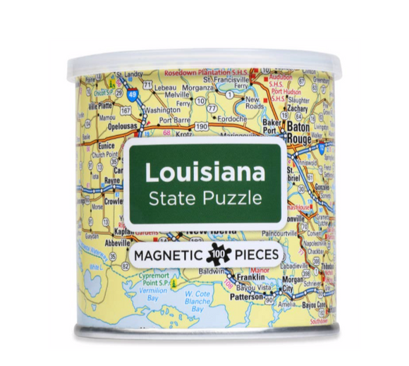 Louisiana Magnetic Puzzle