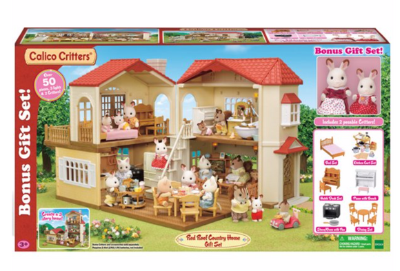 Calico Critters Red Roof Country Home