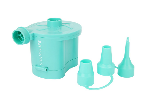 BATTERY ELECTRIC AIR PUMP | TURQUOISE