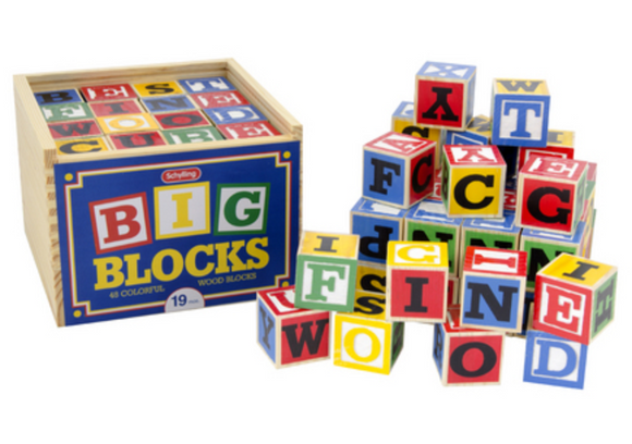 ABC blocks large