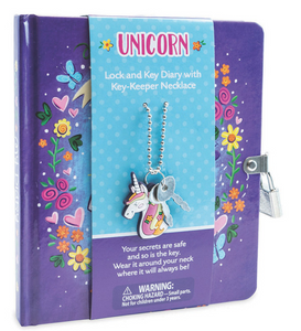 Unicorn Diary and Necklace
