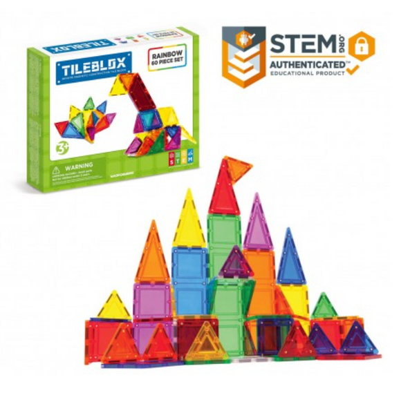 TILEBLOX RAINBOW 60 PC SET