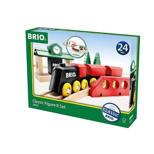 Brio Classic Train Figure 8 Railway