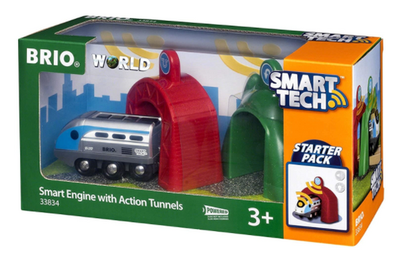 SMART TECH ENGINE WITH ACTION TUNNELS