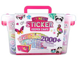 Jam Packed Sticker Keeper Crate