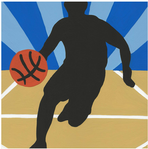 Basketball Boy - 6 Color Paint by Number Kit