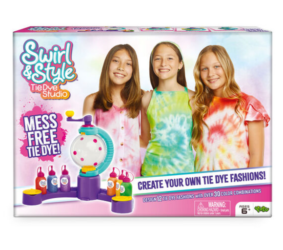 Swirl And Style Tie Dye Design Station