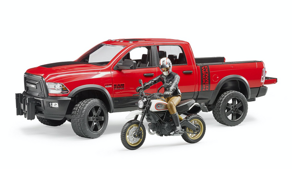 RAM 2500 Power Wagon including Ducati Desert Sled