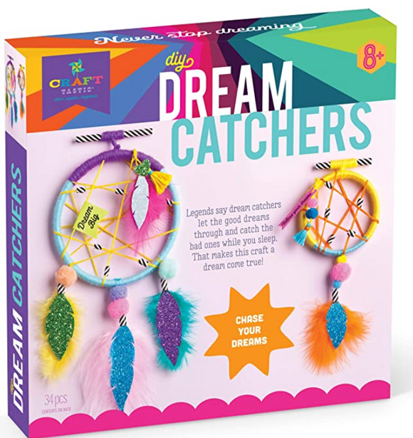 Craft-tastic – DIY Dream Catchers – Craft Kit Makes 2 Dream Catchers