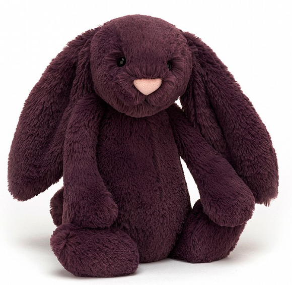 Bashful Plum Bunny (3 sizes)