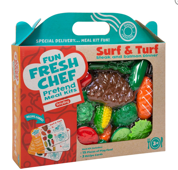 SURF N TURF – FUN FRESH CHEF